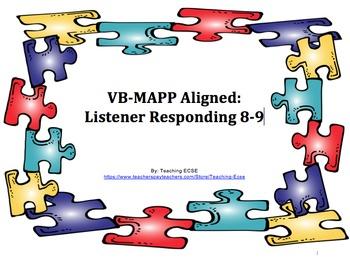 VB-MAPP Aligned: Listener Responding 8/9