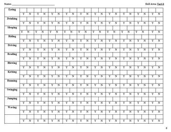 VB-MAPP Aligned: Tact Milestone 8