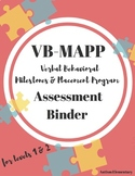 VB-MAPP Assessment Binder Toolkit for Applied Behavioral Analysis