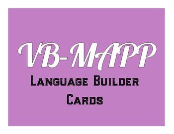 VB MAPP Language Builder Cards