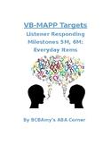 VB-MAPP Listener Responding 5M/6M - Everyday Items
