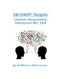 VB-MAPP Listener Responding 8M/14M