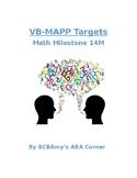 VB-MAPP Math 14M - Comparisons
