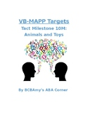 VB-MAPP Tact 10M - Animals and Toys
