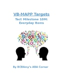 VB-MAPP Tact 10M - Everyday Items