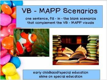 VB MAPP - Adapted Book/File Folders