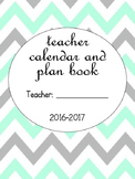VB Schools Cheveron Calendar and Plan Book
