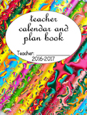 VB Schools Paint Palette Calendar and Plan Book