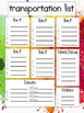 VB Schools Paint Palette Calendar and Plan Book