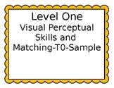 VBMAPP Level One Visual Perceptual Skills and Matching to Sample Set