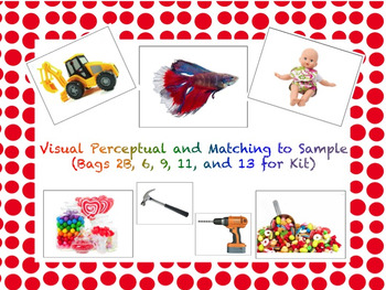 VB Assessment Kit - Matching (Bags 2B, 6, 9, 11, and 13) - Autism / ABA