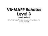 VBMAPP_Echoics Level 3