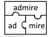VC/CVE Word Puzzles- Part II