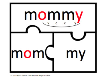 VC-Cy Word Puzzles