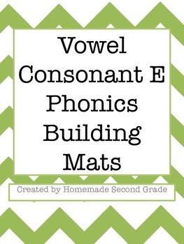 VC-E Phonics Building Mats