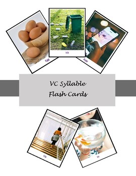 VC Syllables - Real Pictures