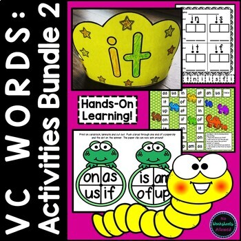 VC Word Activities for Beginning and Struggling Readers