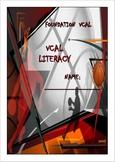 VCAL Foundation Literacy