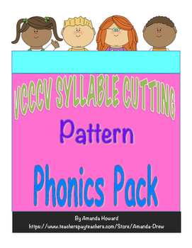 VCCCV Syllable Cutting Pattern Leveled Pack