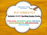 VCCCV Syllables Photo Center Cards Fly,Eagle, Fly, Reading