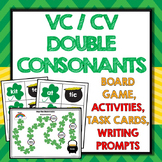 St Patricks Day VCCV Games, Activities, Segmenting, Word Work,