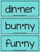 Word Work: VCCV Words