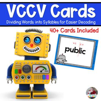 VCCV Robots Finding Syllables