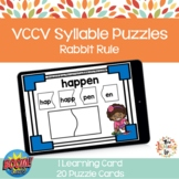 VCCV Syllable Puzzle Boom Cards