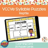VCCVe Syllable Puzzle Boom Cards