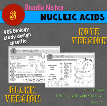 Dna Doodle Notes Worksheets & Teaching Resources | TpT