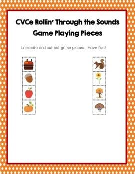 VCE Dice Game, CVCE Words, Magic E, Silent E, Literacy, Phonics, Freebie