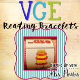 Vowel Consonant E Learning Bracelets - VCE
