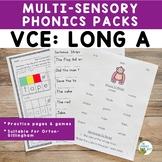 Orton-Gillingham Phonics Activities VCE Long A