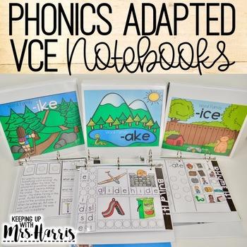 VCE Phonics Interactive Adapted Binder BUNDLE!