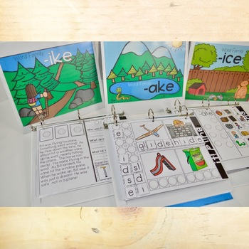 VCE Phonics Interactive Adapted Binders
