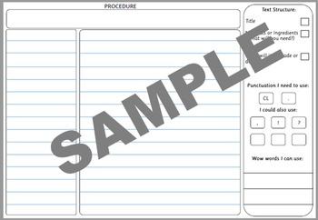 VCOP Big Write Proforma - Procedure