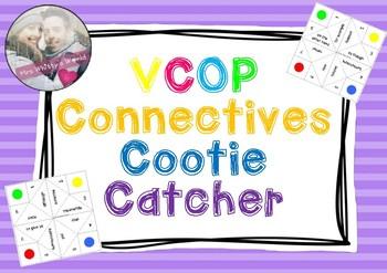 VCOP Connectives Cootie Catcher