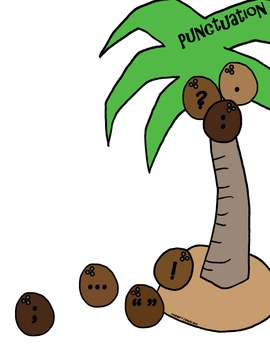 VCOP Punctuation Palm Tree Display Set