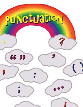 VCOP Punctuation Rainbow Display Set