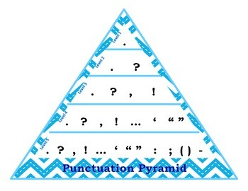 VCOP Pyramid with Stitched Chevron Background