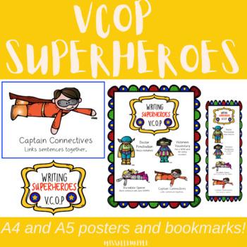 VCOP Super Heroes - display, writing enhancement