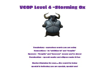 VCOP levels with Kung Fu Panda