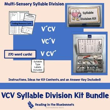 VCV Syllable Division Kit Bundle
