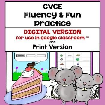 CVCE words Fluency and Fun