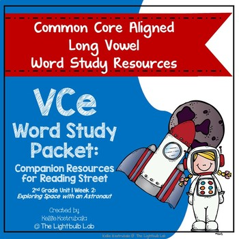 VCe Word Study Packet: (Exploring Space) Reading Street Supplemental Resource