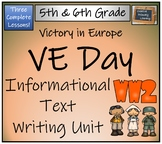 VE Day (Victory in Europe) - Informational Text Writing Activity