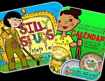 VEGETABLE BUNDLE! {Seasonal gardening calendar, Vegetables, Pumpkins, Potatoes}