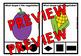 VEGETABLE SHAPES CENTER (KINDERGARTEN GEOMETRY ACTIVITIES)