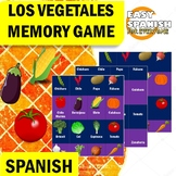 SPANISH: LOS VEGETALES (MEMORY GAME)
