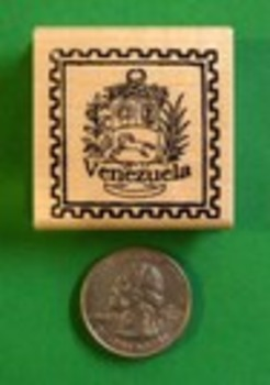 VENEZUELA Country/Passport Rubber Stamp